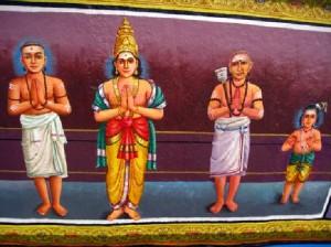 indisches Wandgemälde